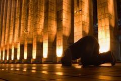 夜祷告 免版税库存图片
