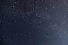 夜空和银河 库存照片