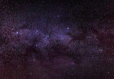 夜空星形 免版税图库摄影