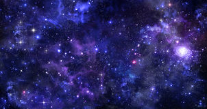 夜空的背景 免版税库存照片
