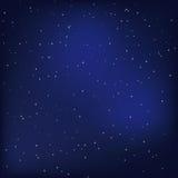 夜空 免版税库存图片