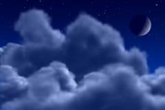 夜空 库存照片