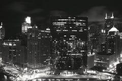 夜行动 免版税图库摄影