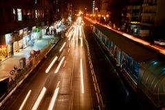 夜都市市中东 库存图片