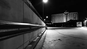 夜间城市场面 免版税库存照片