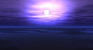 夜间天空 免版税图库摄影