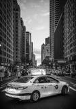 夜间曼哈顿 免版税库存图片