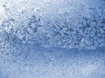 夜间霜模式 图库摄影