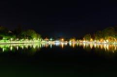 夜间光 免版税图库摄影