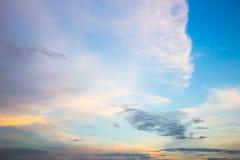 夜间天空天空纹理 免版税库存图片