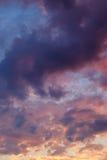 夜间天空天空纹理 免版税库存照片