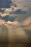 夜间天空天空纹理 库存图片