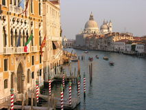 夜间威尼斯 免版税图库摄影
