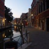 夜间威尼斯 库存图片