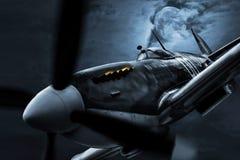 夜间战斗机 库存图片