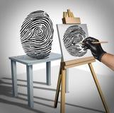夜贼概念身分货币成套装备护照堆积包围的偷窃佩带 库存照片