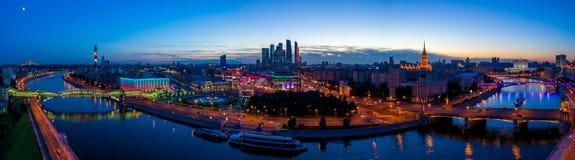 夜间莫斯科 免版税图库摄影