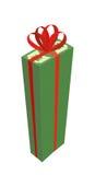 大一团与红色弓的金钱 高堆美元 礼物金钱 向量例证