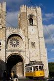 大主教管区罗马宽容的里斯本 库存照片