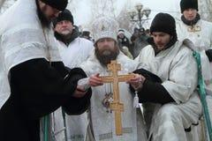 大主教asino rostislav托木斯克 库存照片