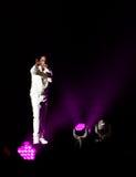 大人小孩双拍档音乐会在蒙特利尔 免版税库存图片