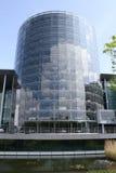 大众的玻璃工厂 透明工厂 免版税库存图片
