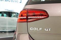 大众高尔夫球2014有限版2014年 免版税库存图片