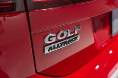 大众高尔夫球Alltrack 库存照片