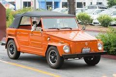大众类型181在显示的汽车 免版税库存图片