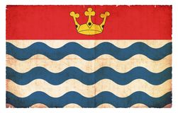 大伦敦大英国难看的东西旗子  免版税库存图片