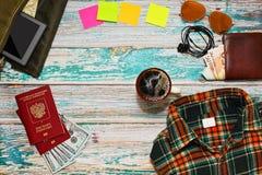 大假日旅途计划概念 免版税库存图片