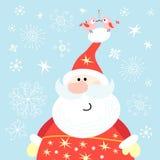 大克劳斯・圣诞老人 免版税库存照片