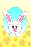 大兔宝宝复活节 库存例证