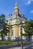 大公地下埋葬室、彼得和保罗堡垒在圣彼得堡 库存照片