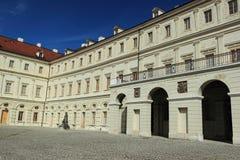 大公宫殿在威玛 免版税图库摄影