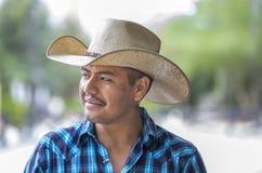 大农场的牛仔 库存照片