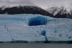 大冰山在Los Glaciares国家公园,阿根廷 免版税图库摄影