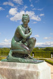 大别墅从事园艺雕象金星凡尔赛 免版税库存照片