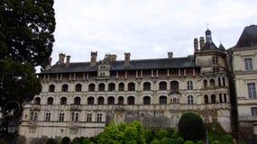 大别墅在卢瓦河谷的de布卢瓦 免版税库存图片