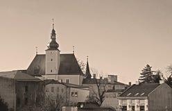 大别墅在Frydek-Mistek 免版税库存图片