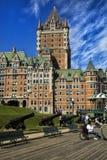 大别墅城市frontenac魁北克 Frontenac城堡 免版税库存图片