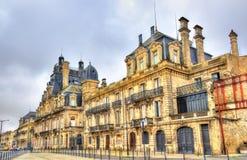 大别墅德卡,一个历史建筑在红葡萄酒,法国 免版税库存图片