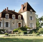 大别墅法语 库存照片