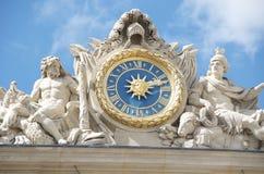 大别墅详细资料宫殿凡尔赛 免版税图库摄影