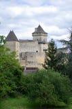 大别墅castlenaud 库存图片