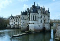 大别墅Chenonceau或夫人城堡(法国) 免版税库存图片