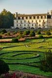 大别墅chenonceau法国Loire Valley 免版税库存图片