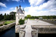 大别墅chenonceau de法国Loire Valley 免版税库存图片