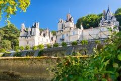 大别墅d'Usse,法国 免版税库存照片