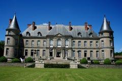 大别墅de法国haroue近南希 库存图片